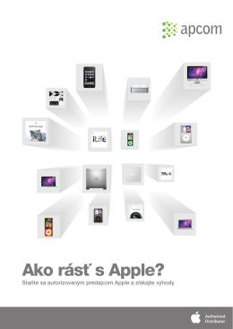 Ako rásť s Apple?