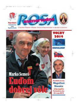 ROSA EXTRA EU 8-1 - Magnificat Slovakia