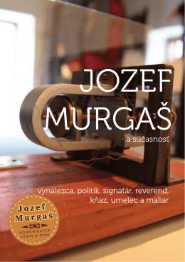 Brožúra Jozef Murgaš - komunikácia včera a dnes (pdf.)