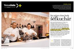Na večeru dnes bude šéfkuchár - časopis Profit