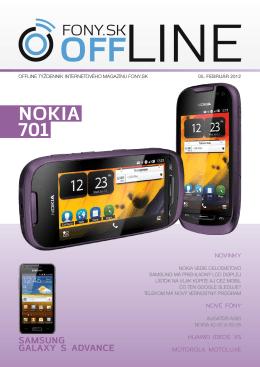 Fony.sk OFFLINE 5. februára 2012