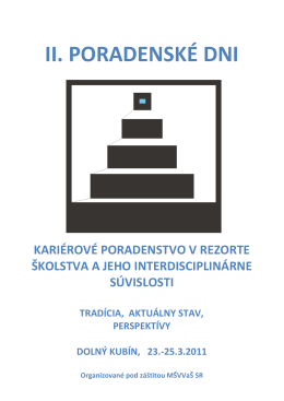 Zborník 2011