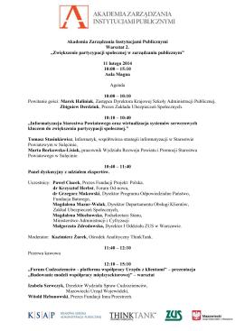 Ostrowiec Św. 26.12.2014 Regulamin II Turnieju o Puchar Posła