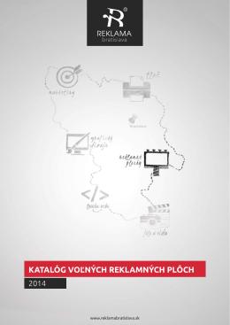 katalóg voľných reklamných plôch
