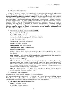 sprawozdania z prac Regionu IPA Kraków