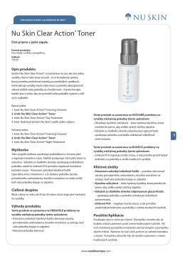 Nu Skin Clear Action® Toner