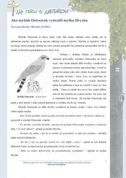 Stiahnuť (.pdf) - Na túru s Naturou