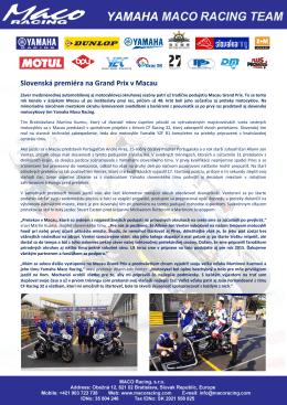2014 - Macau Grand Prix