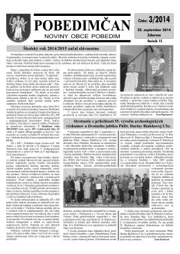 Pobedimčan č. 03 2014