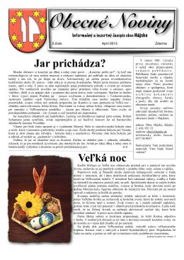 noviny april 2013