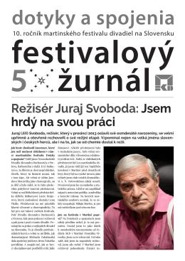 festivalový žurnál 5
