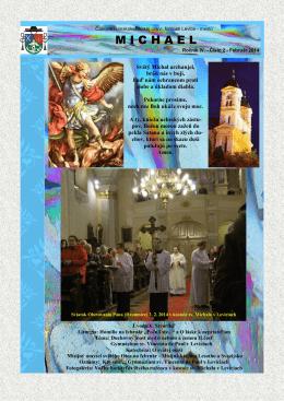 Michael - február 2014 - Rímskokatolícka cirkev Farnosť Levice mesto