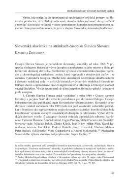 Slovenska slavistika vcera a dnes - final.indd