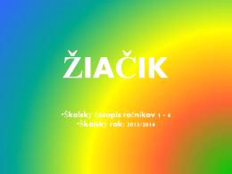 žiačik - Základná škola, Janigova 2, Košice
