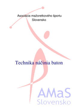 Technika náčinia baton (.pdf)