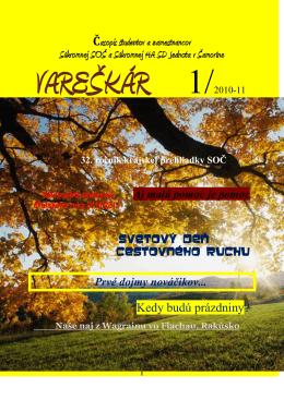 číslo 1/2010 - hasossamorin.edu.sk