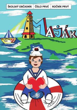 Prvé číslo školského časopisu Maják