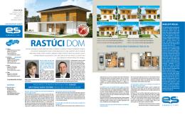RASTÚCI DOM - Ekonomické stavby