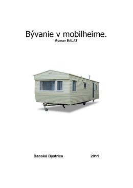 Bývanie v mobilheime mensi