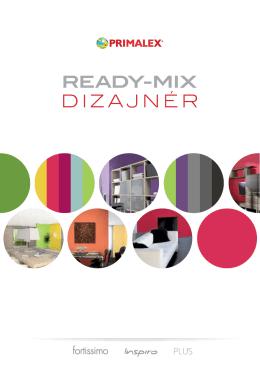 Interiérový dizajnér ready-mix