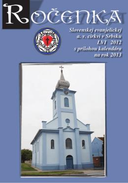 Rocenka 2012 1/2
