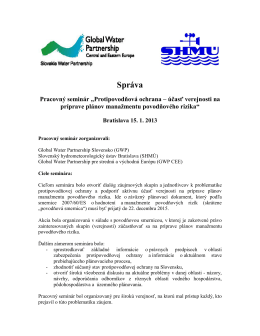 PDF, 0.40 MB - Global Water Partnership