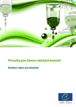 Príručka pre členov etických komisií