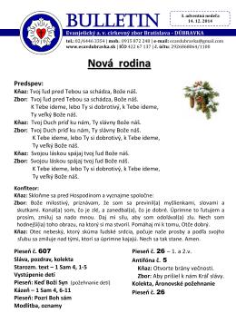 bl. 14.12.2014 - ECAV Dúbravka