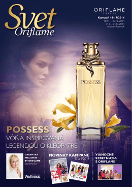 POSSESS - Oriflame