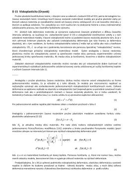 D15. Viskoplasticita. Integračný algoritmus von Misesovho