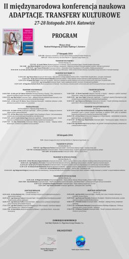 PROGRAM - Kardiologia Prewencyjna 2012