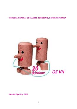 OZ VH - Vedecká hračka