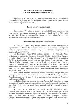 Sprawozdanie z wizytacji I Wydziału Cywilnego w Sądzie