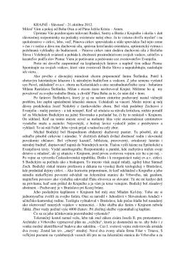 Slávnosť - 21.októbra 2012 (PDF)