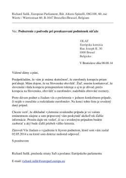 OLAF - Sulik.sk