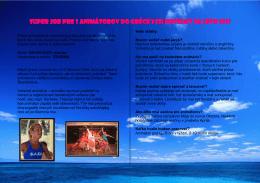 super job pre 3 animátorov do gréckych hotelov na leto 2011