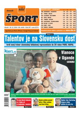 Talentov je na Slovensku dosť