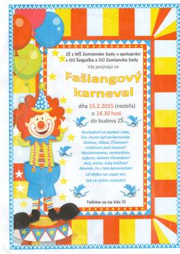 Fašiangy v Základnej škole – pozvánka (.pdf)