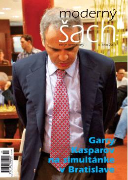 Garry Kasparov na simultánke v Bratislave