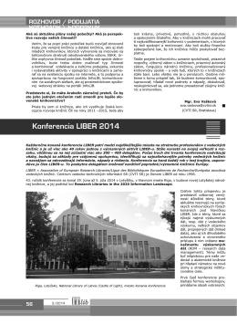 Verzia PDF - ITlib - Centrum vedecko