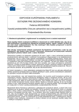 Verzia vo formáte PDF - European Elections 2014