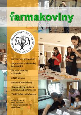 Kariérne dni farmaceutov - Slovenský spolok študentov farmácie