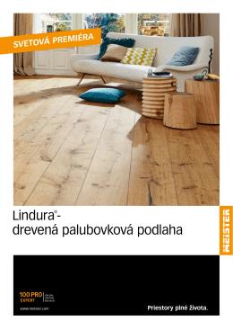 Lindura®- drevená palubovková podlaha