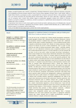 Spravodaj RVP 3/2012