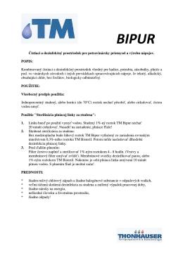 TM BIPUR - Sanitacia.sk