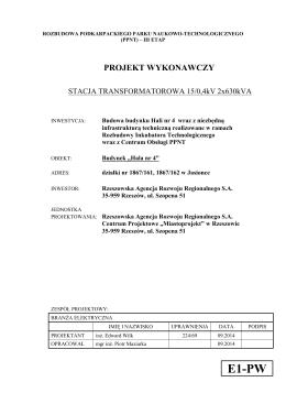Zakup oprogramowania SAS CIS-8/2014 str. 1 Załącznik nr 1 do SIWZ