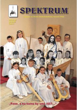Spektrum c.05.indd - Rímskokatolícka farnosť Víťaz