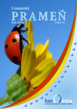 Cemjatský prameň č. 15 2014