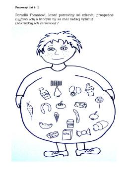 zdravé a nezdravé potraviny