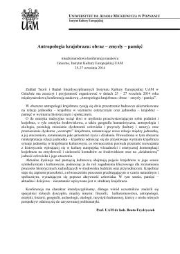Zaproszenie, Zmysły w kulturze średniowiecza, Warszawa 2014.pages
